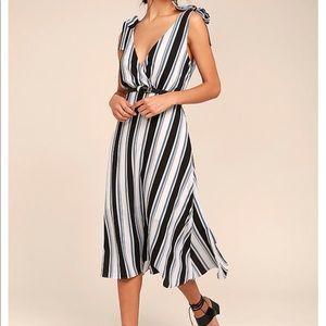 Ali and Jay Striped Dress